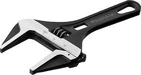 Ключ разводной SlimWide Compact, KRAFTOOL, 120/28 мм, Cr-V (27266-15)