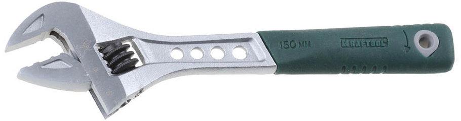 Ключ разводной Tiger, KRAFTOOL, 150/25 мм, Cr-V (27265-15), фото 2
