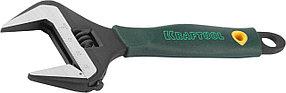 Ключ разводной, SlimWide, KRAFTOOL, 150/34 мм, Cr-V (27258-15)