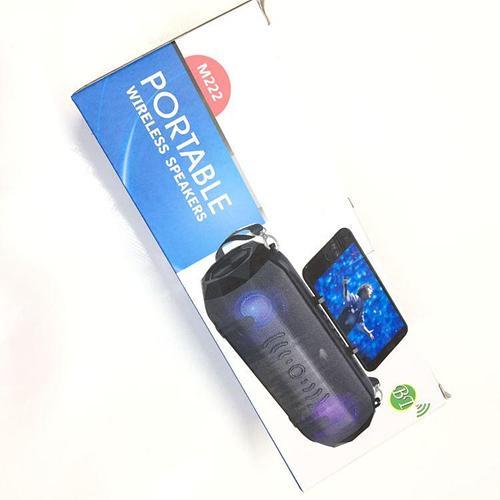 Bluetooth динамик с фонариком
