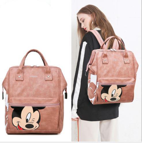 Рюкзак для мамы с Микки, цвет розовый