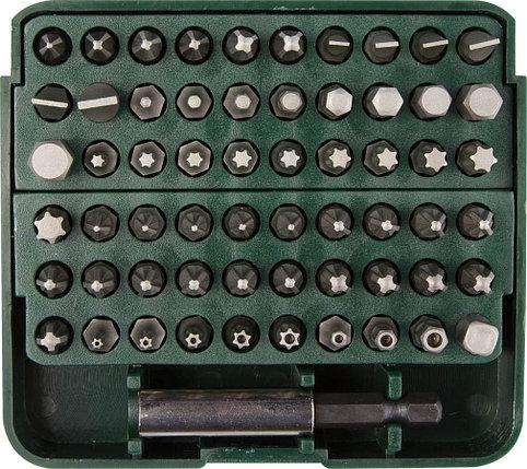 """Набор бит с адаптером в пластиковом боксе GRAND-61, KRAFTOOL, 61 шт., серия """"Профессионал"""" (26140-H61), фото 2"""