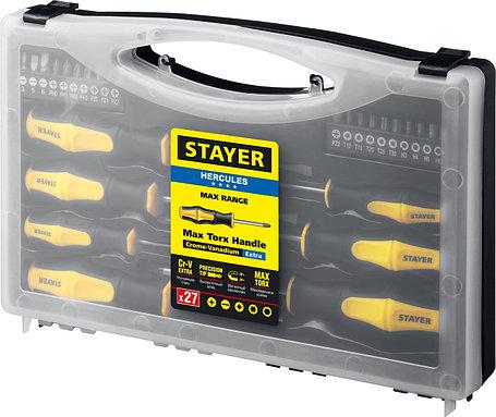 Отвертки с магнитным наконечником, STAYER, 27 шт. (25827), фото 2
