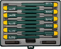 Набор отверток для точных работ и телекоммуникационного оборудования X-Telecom,KRAFTOOL, 12 предм. (25616-H12)