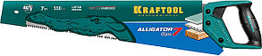 Ножовка для гипса Alligator GIPS, KRAFTOOL, 7 TPI, 550 мм (15210), фото 3