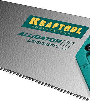 Ножовка по ламинату Alligator LAMINATOR, KRAFTOOL, 11 TPI, 500 мм (15207), фото 2
