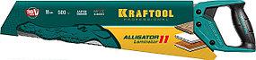Ножовка по ламинату Alligator LAMINATOR, KRAFTOOL, 11 TPI, 500 мм (15207), фото 3