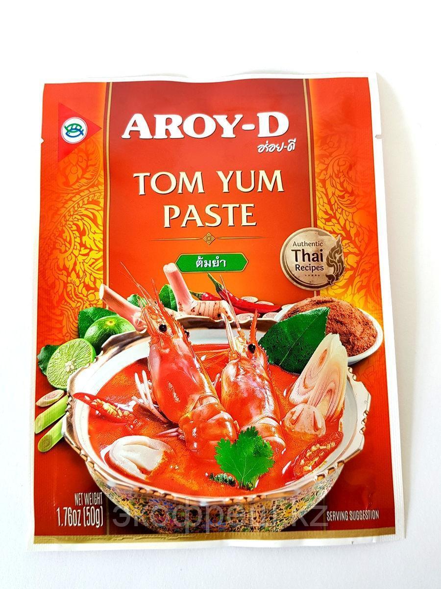 Паста Том Ям Aroy-D (Tom Yum Paste Aroy-D) 50 гр