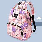 Рюкзак для мамы с кошками, цвет розовый, фото 6