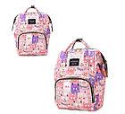 Рюкзак для мамы с кошками, цвет розовый, фото 8