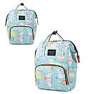 Рюкзак для мамы с мышками, цвет свето-голубой, фото 3