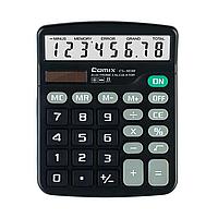 Калькулятор настольный, Comix, CS-1838, 8 разряд., Чёрный
