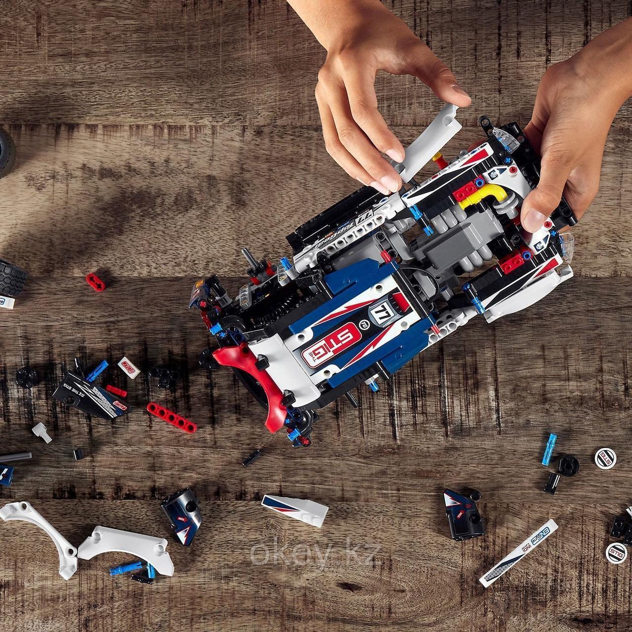LEGO Technic: Гоночный автомобиль Top Gear 42109 - фото 8
