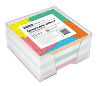 Блок для записей OfficeSpace цветной в подставке 9х9х4,5 см