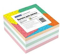 Блок для записей OfficeSpace цветной 9х9х4,5 см