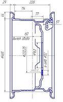 6501-3101012 Диск колеса ГАЗ-66, 3308 в сб.
