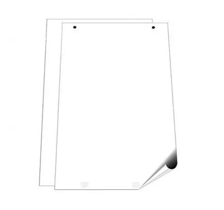 Блок бумаги для флипчарта 10 листов/рул