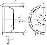 3932-3101012-30 Колесо 462-330 дисковое в сб. П/прицепы
