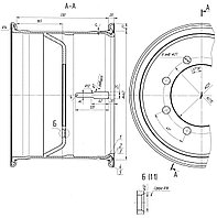 3932-3101012-40 Колесо 462-330 дисковое в сб. П/прицепы