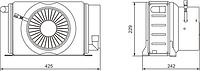 Р336-8101010-20 Отопитель салона Икарус 24В