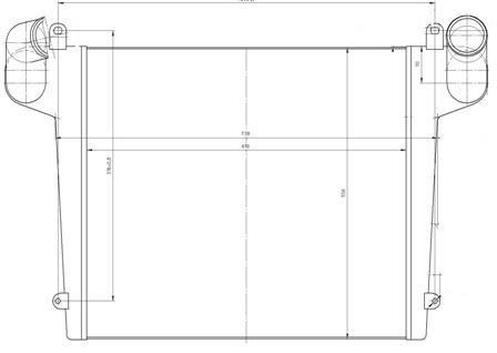 43085А-1172010 Охладитель наддувочного воздуха КАМАЗ-4308