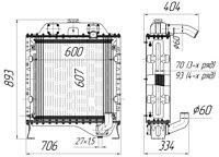 ДЭС-60Р-85У.13.010 Радиатор водяной ДЭС-60Р (85-1501.010)