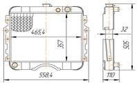 24-1301010-ВВ Радиатор ГАЗ-24 2-рядный (153.1301010)
