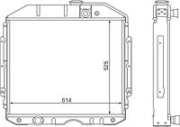 53-1301010 Радиатор ГАЗ-53 3-рядный