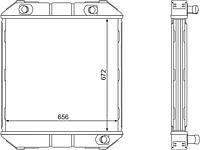 695/699-1301010 Радиатор ЛАЗ