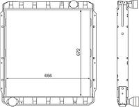 5256-1301010 Радиатор ЛиАЗ