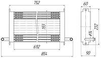 5320-1013010-02 Радиатор масляный КАМАЗ, КРАЗ,МАЗ, УРАЛ,ЗИЛ (5320К.1013010-02)