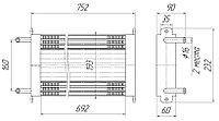 5323-1013010-01 Радиатор масляный УРАЛ (5323К.1013010-01)