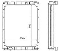 5297Ш-1301010-10 Радиатор НЕФАЗ