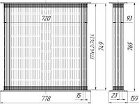 ЧТЗ 130У.13.020 Сердцевина радиатора 4-рядная Т-170,Т-130,Т-10 (Д180.13.030) (Д180-1301020)