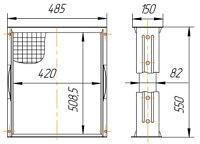МТЗ-70У-1301020 Сердцевина радиатора МТЗ (161.1301020)