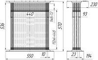 45-1301020 Сердцевина радиатора ЮМЗ-6