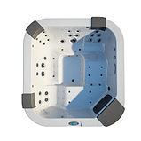 Гидромассажный спа бассейн Jacuzzi Santorini Pro, фото 2
