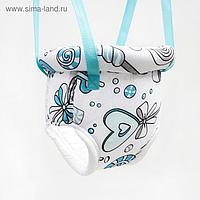 Прыгунки №4 «Леденец голубой» (прыгунки, тарзанка)