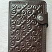Кожаный ремень мужской и портмоне, фото 4