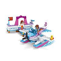 Игровой конструктор, Ausini, 24418, Мир Чудес, Гидросамолет подружек, 161 деталей, Цветная коробка