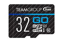 Team Group TGUSDH32GU302 карта памяти  MicroSDHC 32GB U3 TGUSDH32GU302, Read: 90MB/sec; Write: 45MB/sec, No Ad