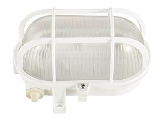 Светильник L5018 E27 60W WHITEспласт.решет. (МС)