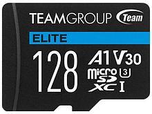 Team Group TEAUSDX128GIV30A103 карта памяти Elite MicroSDHC/SDXC 128GB U3 90MB/sec; Write: 45MB/sec + SD Adapt