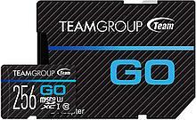 Team Group TGUSDX256GU303 карта памяти 256GB MicroSDXC класс 10, с адаптером