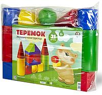 """Конструктор """"Теремок"""" (21 деталь)"""