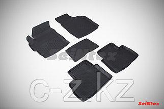 Резиновые коврики с высоким бортом для Daewoo Matiz 2000-н.в.