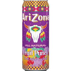 Напиток Arizona Fruit Punch Fruit Juice Cocktail, 0.34л