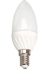 Лампочка светодиодная C35 4W 350LM E14 6000K (ECOLITELED)