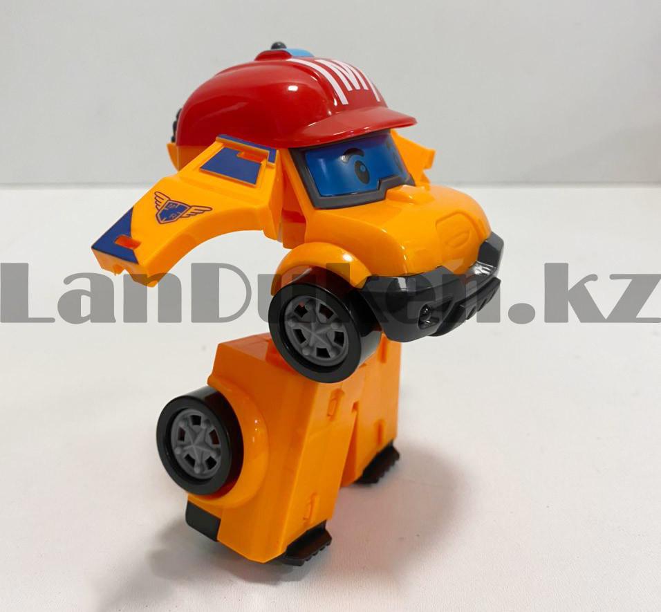 Трансформер игрушечный из серии Робокар Поли и его друзья для детей Марк 11,5 см - фото 4