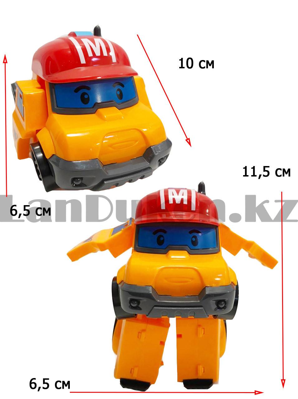 Трансформер игрушечный из серии Робокар Поли и его друзья для детей Марк 11,5 см - фото 3